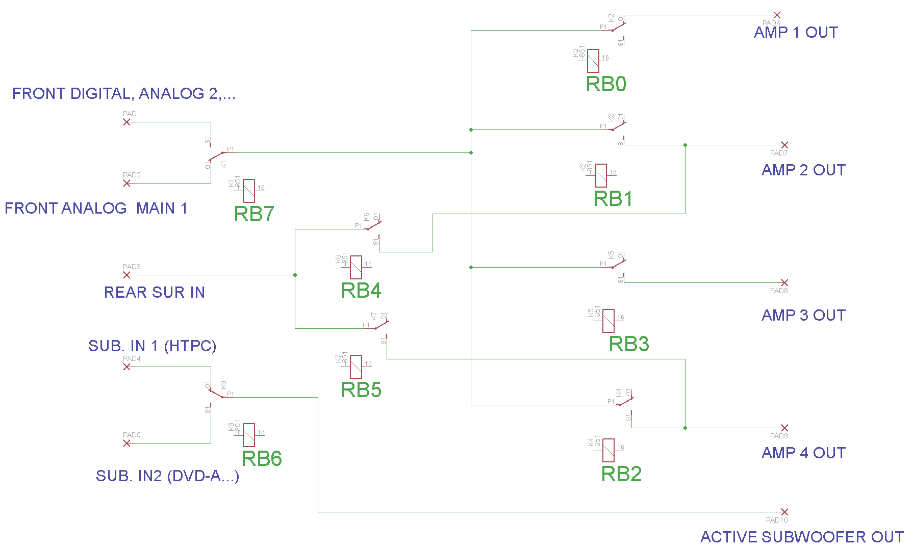 Relay Schematic Schematics of Input Relay